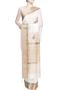 white-gold-floral-embroidered-sari