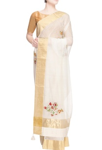 white-thread-embroidered-sari
