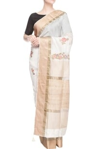 white-floral-thread-embroidered-sari