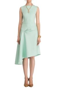 mint-green-asymmetric-dress
