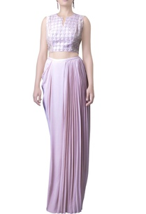 pink-embroidered-crop-top-and-skirt
