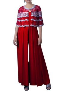red-embroidered-bolero-jacket-with-ljumpsuit