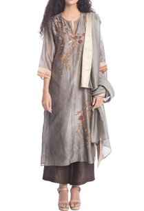 grey-bead-work-printed-kurta