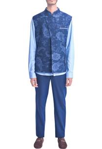 navy-blue-self-woven-paisley-design-vest-coat