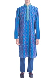 blue-kurta-set-with-thread-embroidery