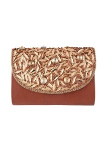 brown-bead-embellished-clutch