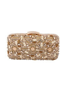beige-bead-embellished-clutch