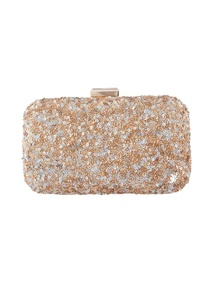 grey-beige-sequin-clutch