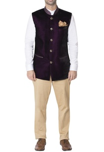 purple-nehru-jacket-with-contrast-pockets