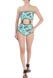 green-monokini-cutout-swimsuit