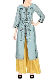 light-blue-kurta-with-palazzos
