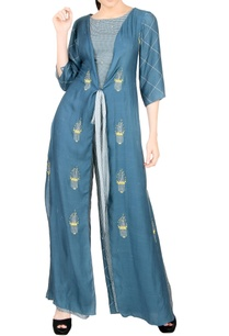 dark-blue-embroidered-jumpsuit