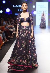 navy-blue-floral-lehenga-with-cape