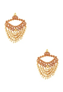 gold-plated-pearl-earrings-maangtikka