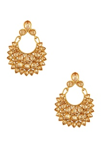 gold-plated-circular-earrings-maangtikka