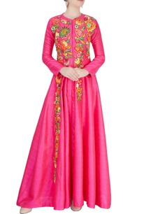 pink-thread-embroidered-anarkali