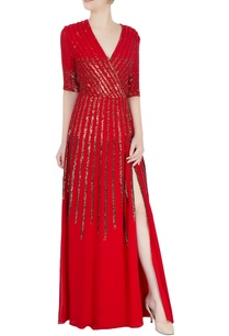 red-gown-in-sequin-stripes