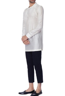white-collar-chanderi-shirt