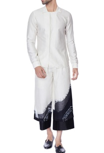 white-black-double-layered-tie-dye-chanderi-pants