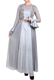 grey-embroidered-anarkali