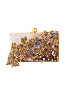 white-gold-hand-embroidered-clutch
