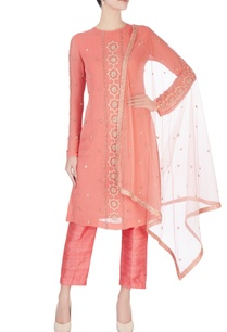 pink-embellished-straight-kurta-set