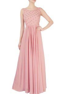 pink-embellished-flared-gown