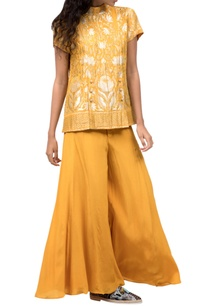 mango-yellow-pant-set