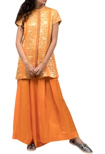 orange-zari-work-top-pants