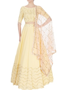 yellow-coin-sequin-lehenga