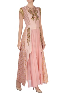 pink-anarkali-with-jacket-layer