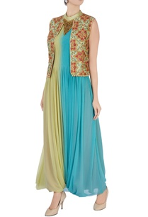blue-green-embroidered-jumpsuit