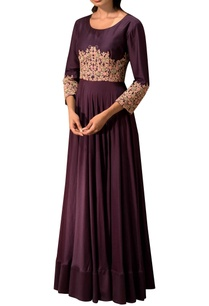 purple-anarkali-with-embroidery