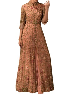 peach-embroidered-anarkali