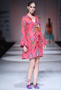 hot-pink-fish-print-dress