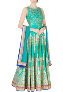 green-sequin-embroidered-anarkali