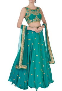 turquoise-gota-and-zircon-embroidered-lehenga