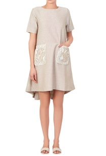 beige-dress-with-printed-pockets