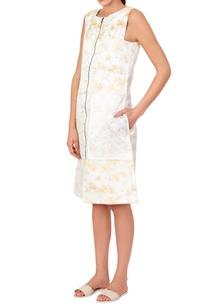 white-yellow-floral-dress