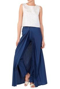 white-cutwork-blouse-trousers