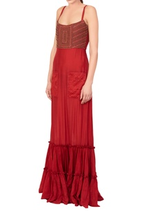 red-dress-with-embroidered-bodice