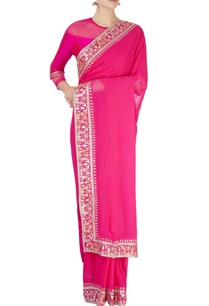 pink-gota-patti-border-sari