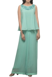 mint-green-hand-embroidered-jumpsuit