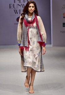 white-red-hand-block-printed-dress
