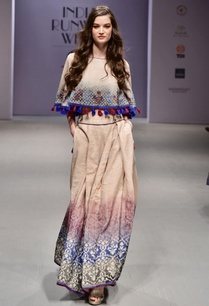 beige-and-blue-printed-lehenga