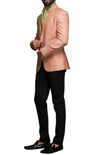 salmon-pink-textured-jacket