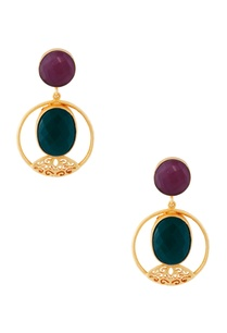 gold-plated-earrings-with-blue-stones
