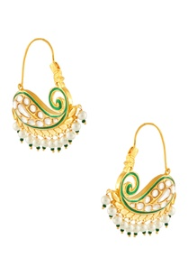 gold-green-earrings-with-white-pearls