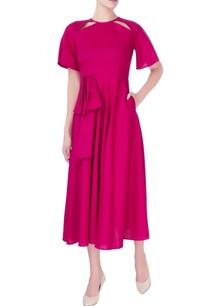 pink-cutout-style-dress