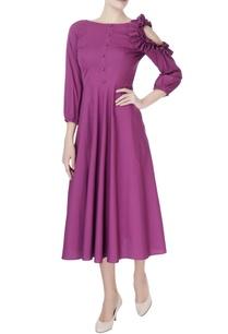 purple-frill-style-dress